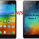 Redmi Note 3 Vs Lenovo K4 note Vs Letv Le 1s