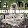 Successful Blogger Banne Ke Liye 14 Super Tips [Hindi]