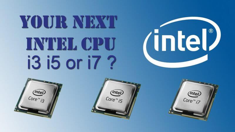 Computer Processor Me Core i3, i5 aur i7 Kya Hota Hai
