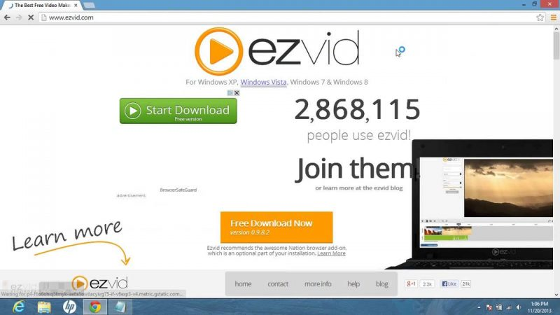 Ezvid-screen-recorder