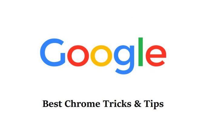 Top 6 Google Chrome  Tricks