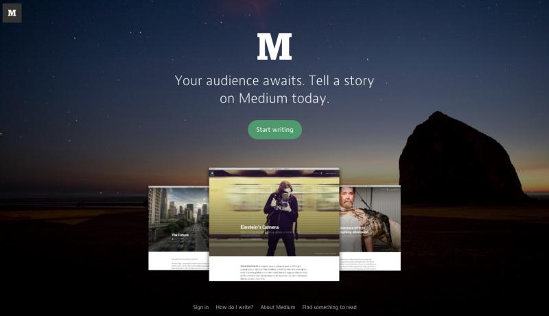 Medium Free Blogger Platform