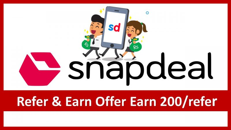 Snapdeal Referral Program