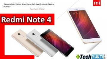 Xiaomi Redmi Note 4 Full Specification in hindi