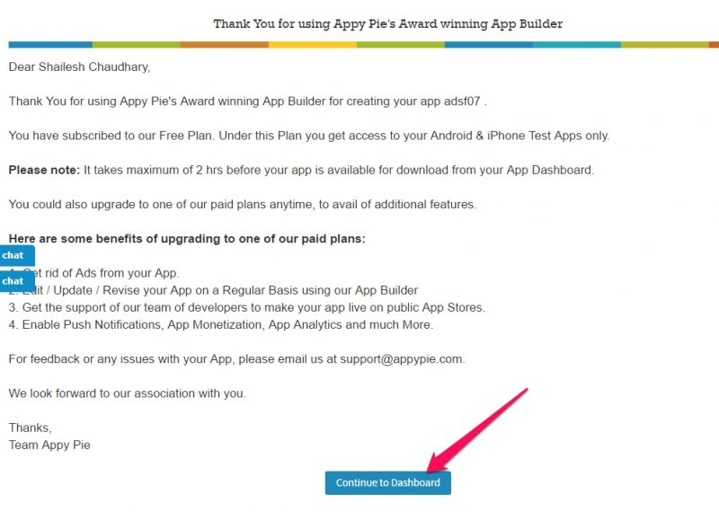 Donwload Your App