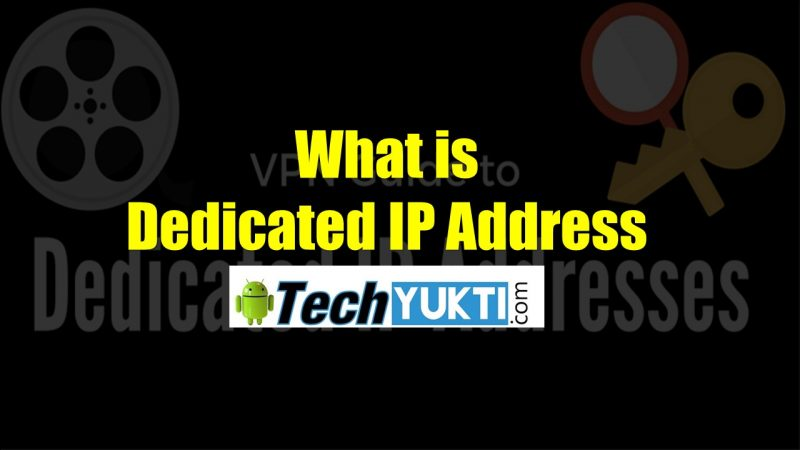 Dedicated IP Address Kya Hai