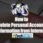 How to Delete Personal Account Information from Internet | Hindi