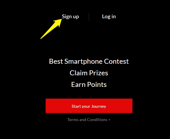 Oneplus Best Smartphone Contest step 2