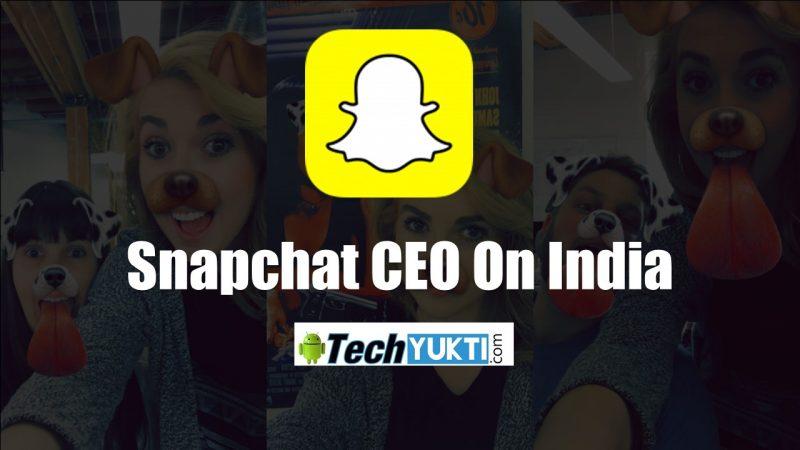 Snapchat CEO