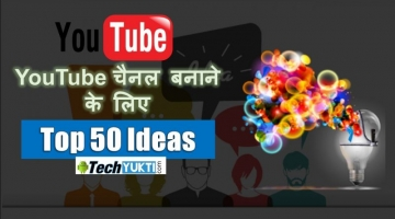 Top 50 YouTube Video Ideas