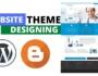 website theme designing