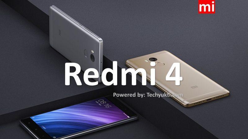 Redmi 4 Review