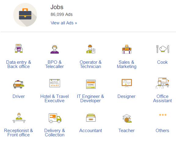 olx jobs