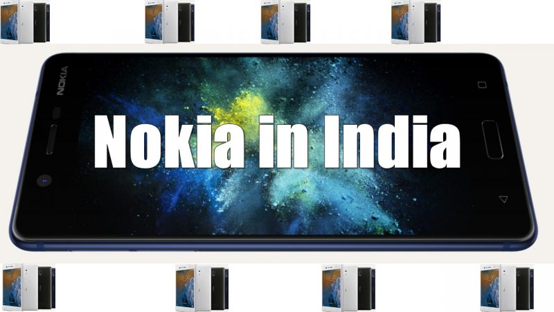 Nokia 3, Nokia 5 & Nokia 6 Launched in india