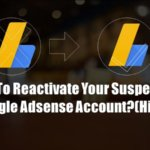 Suspended Adsense Account Reactivate Kaise Kare (कैसे करे)?