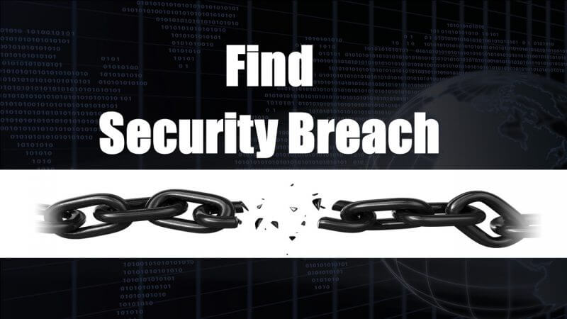 Breaches in Website and Email