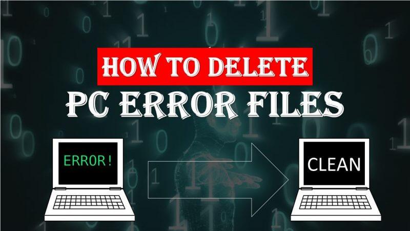 Error Files Delete Kaise kare