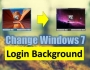 Windows 7 Login Background Change Kaise Kare
