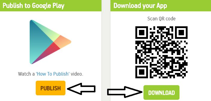 download or publish on play store