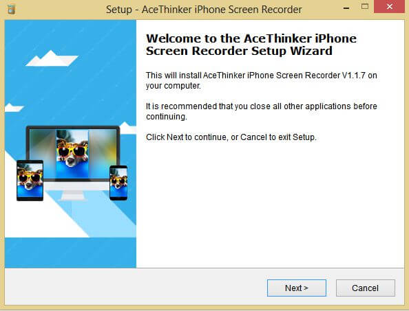 install Screen recorder software