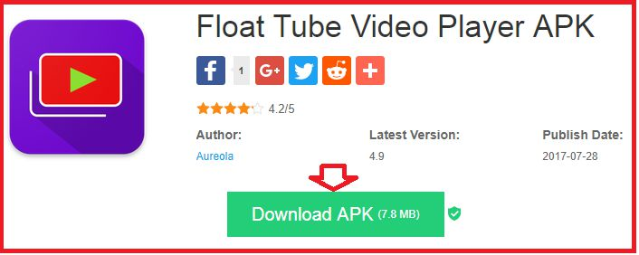 Download Float tube video app