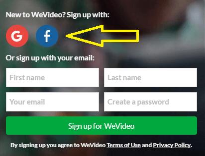 Create a WeVideo Account