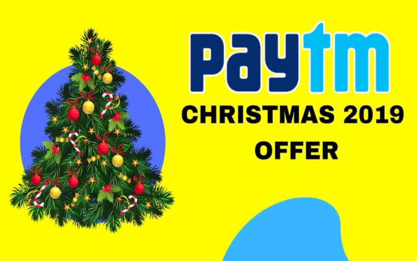 Paytm christmas offer