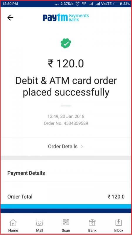 payment success