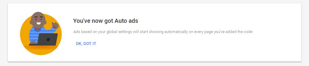 auto ad complete