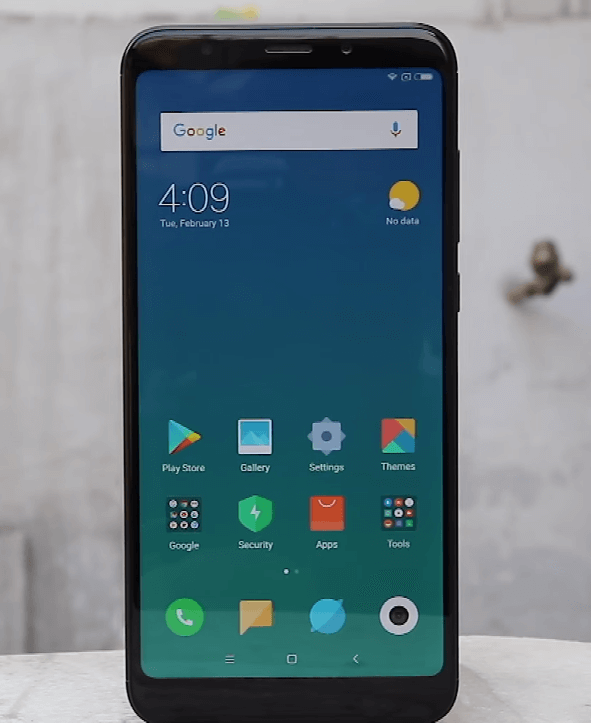 Redmi note 5 Front