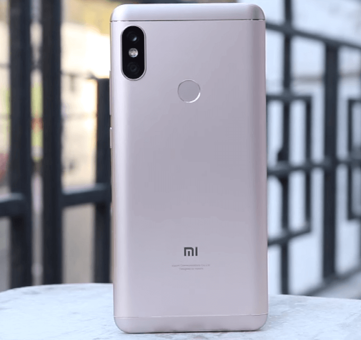 Redmi Note 5 Pro Back Side