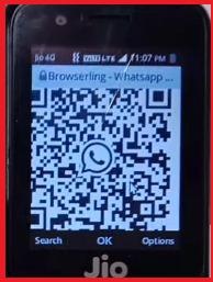 QR code for Whatsapp
