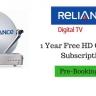 Reliance Digital BIG TV Offer –  5 साल तक Free DTH Channels Subscription