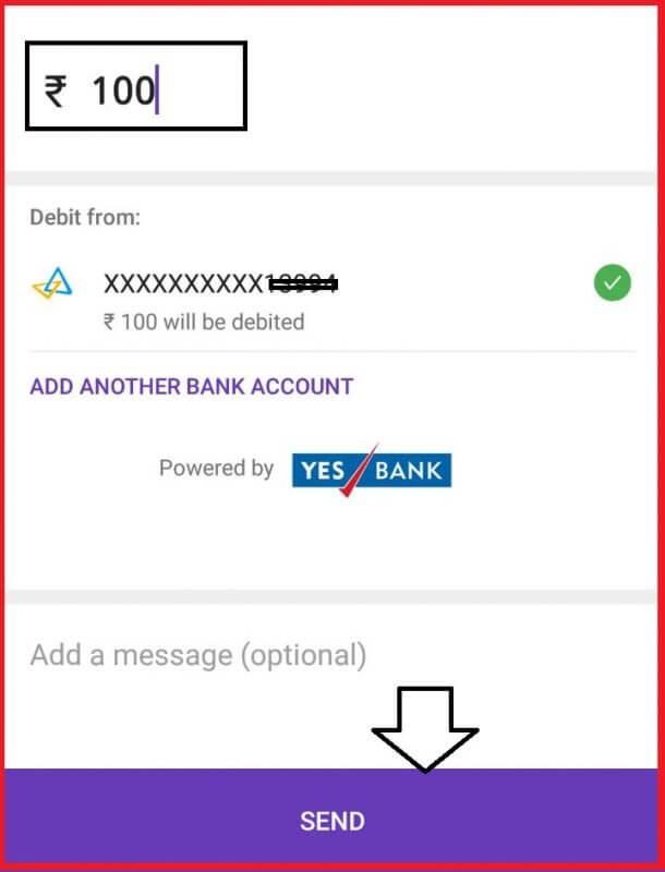 send PhonePe Money