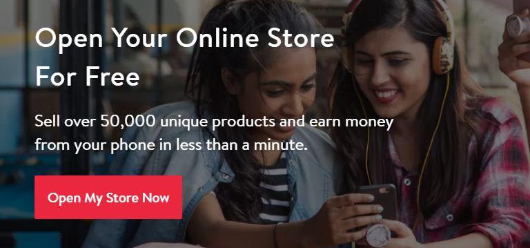 open online Store