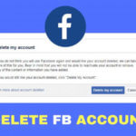 FB Account Delete Kaise Kare(कैसे करे)?