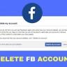 FB Account Delete Kaise Kare(कैसे करे)?