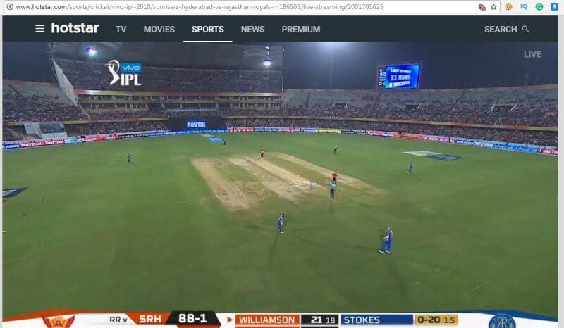 live IPL Match