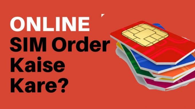 Online SIM Order Kaise Kare? | Airtel, Voda, Idea, Jio