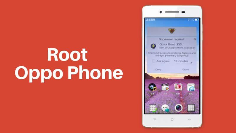 Oppo Phone Root