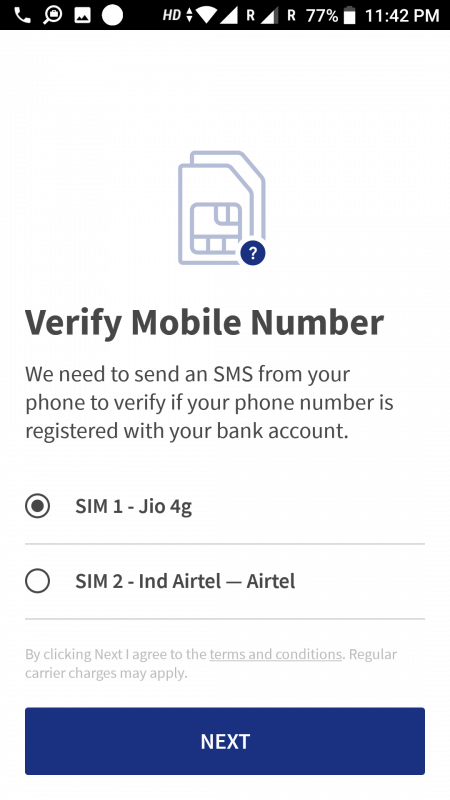 select phone number