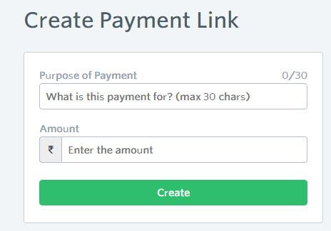 Create Payment Link