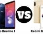 Realme 1 vs Redmi Note 5 Pro