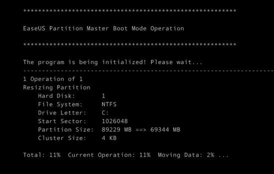 master boot partition