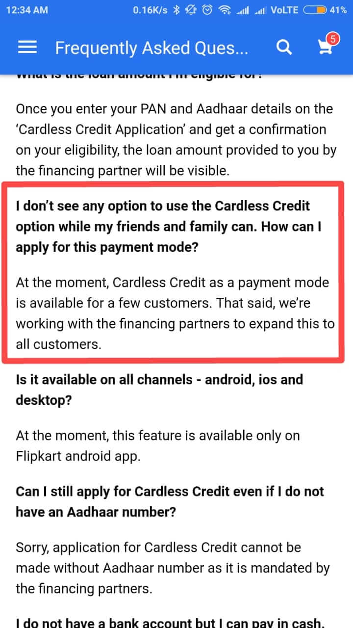 Cardless Payment 3