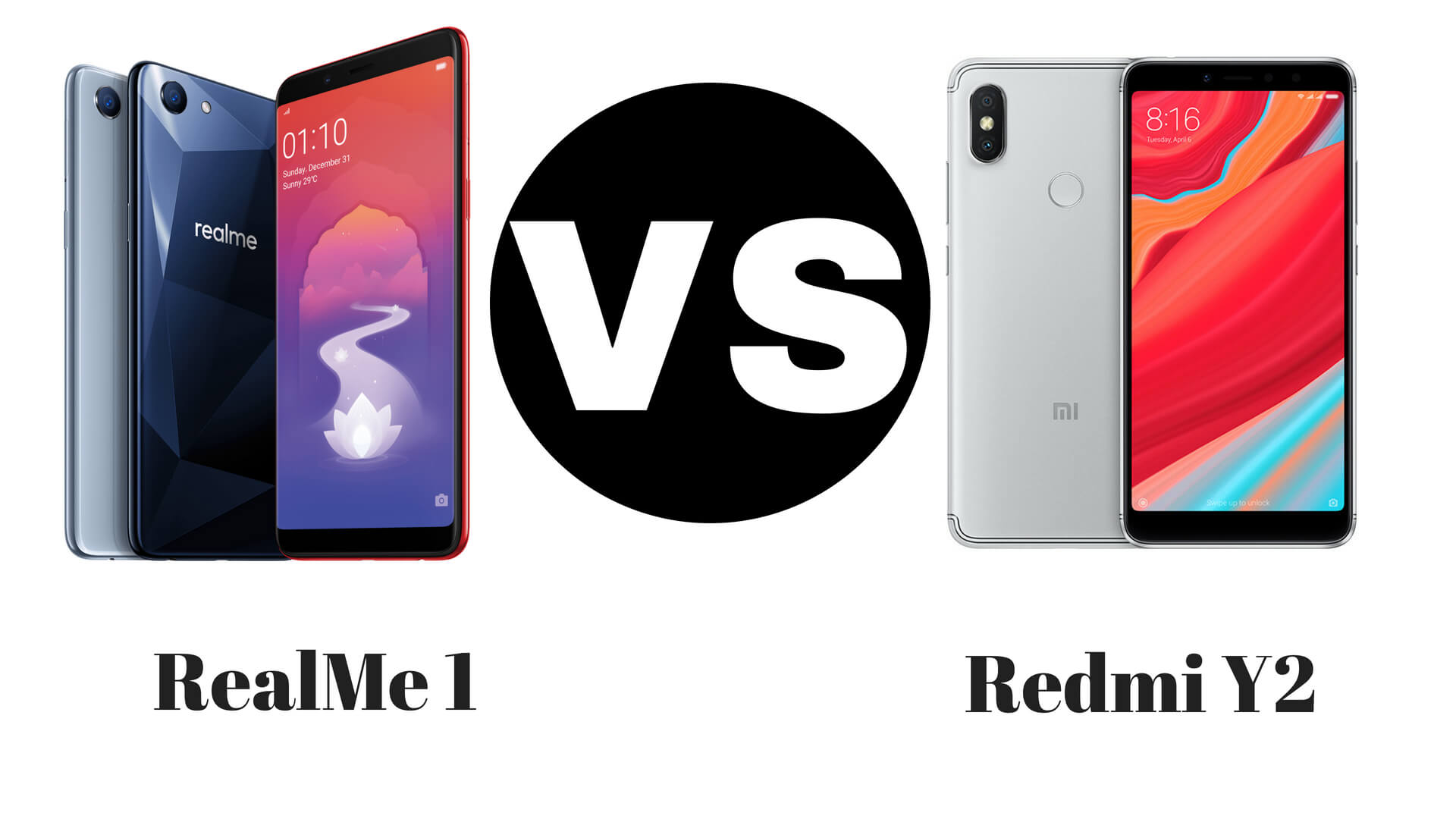 RealMe 1 Vs Redmi Y2 Full Comparison