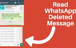 WhatsApp Deleted Message Ko Kaise Padhe?