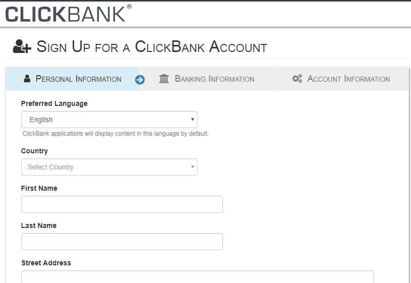 clickbank account