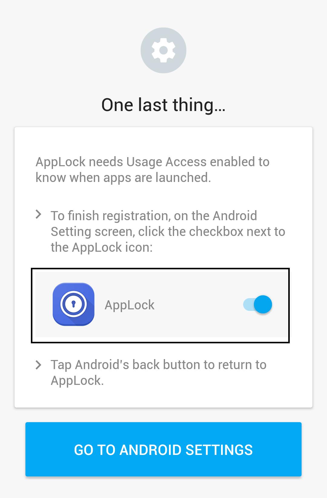 applock access