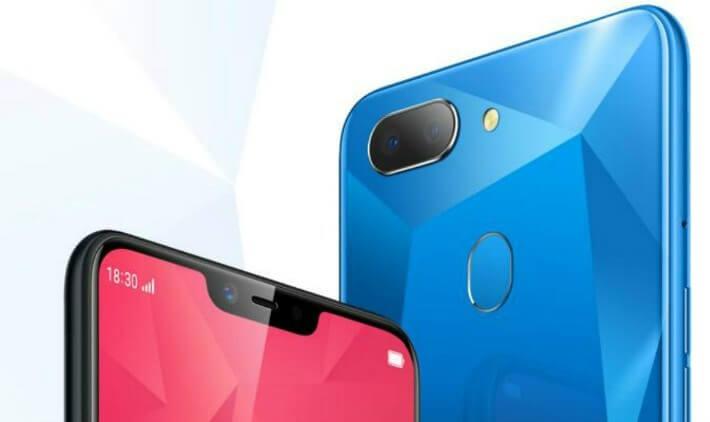 realme 2 phone design